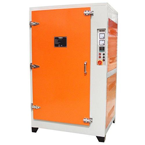 T-Mech - Forno per Termoindurimento per Asciugare Verniciatura a Polvere Elettrostatica Industriale 199cm x 101cm x 121cm