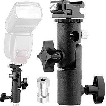 Anwenk Flash cámara Speedlite Soporte giratorio soporte