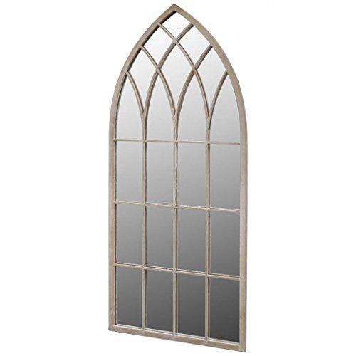 vidaXL Espejo gótico arqueado para jardín 115 x 50 cm para Uso...
