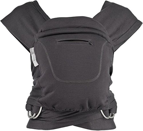 Close Parent Caboo - Mochila fular ergonómica, color gris oscuro (blend graphite)