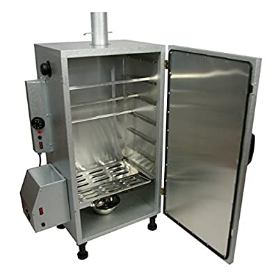 Electric Hot & Cold Food Smoker with thermostatic temperature Control with 10 litres of free chips included from Callow Retail