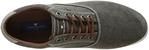 Tom Tailor 2781502, Baskets Basses Homme Marron (lava)