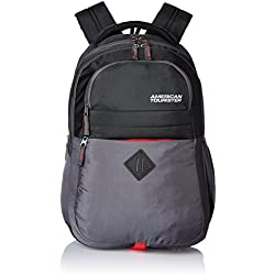 American Tourister 26 Lts Encarta Black Laptop Backpack (Encarta 06_8901836132991)
