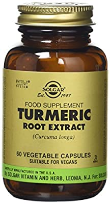 Solgar Turmeric Root Extract Vegetable Capsules - Pack of 60 from Solgar