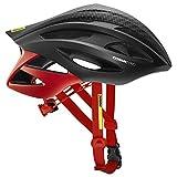 MAVIC Cosmic Pro - Casco de Bicicleta Hombre - Rojo/Negro Contorno de la Cabeza M | 54-59cm 2019