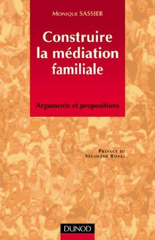 Construire la médiation familiale