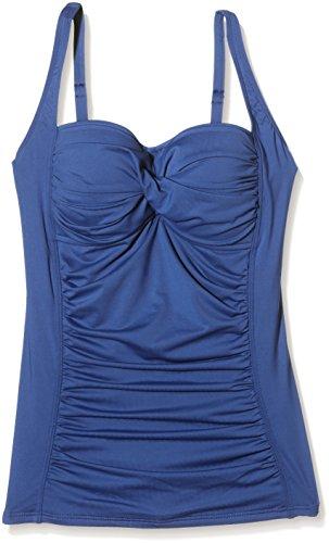 Moontide Twist Fuller Cup Twist Tankini, Bikini Donna Blu (Jeans)