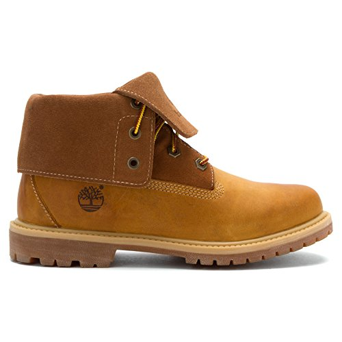 Timberland  Asphalt Trail FTK_8 In Pull On WP Boot with Shearling, Bottines avec doublure intérieure chaude garçon Beige - Wheat