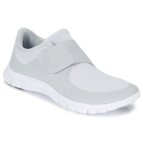 Nike Free Socfly, Chaussures de Running Compétition Homme Blanc