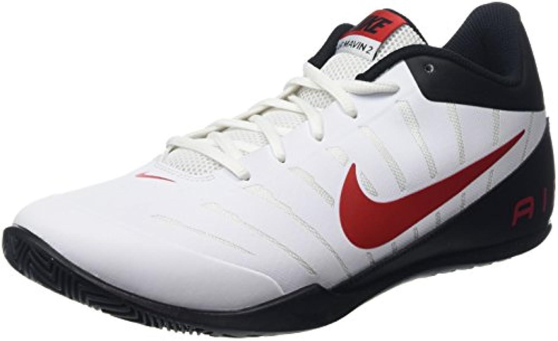 Nike Air Mavin Low 2 - Zapatillas Unisex, Color Blanco/Rojo  -