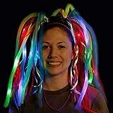Peluca Diadema luminosa Led Multicolor