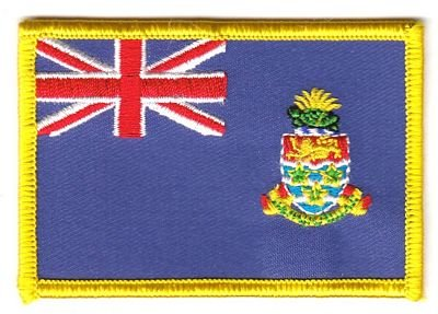 Aufnäher Patch Cayman Inseln Fahne Flagge FLAGGENMAE® -
