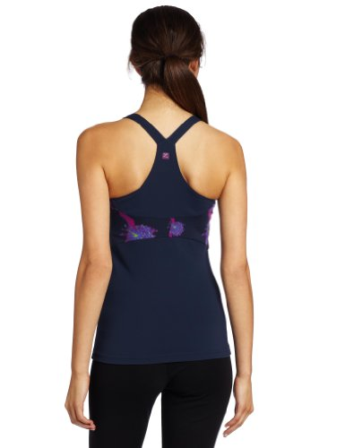 Zobha Amelia Tank Midnight Blue/Midnight Bloom