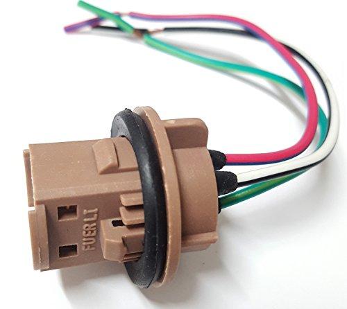 Preisvergleich Produktbild 1x T20 7443 W21 / 5W W3x16Q LAMPEN FASSUNG REPARATUR SOCKEL BIRNE STECKER KABEL