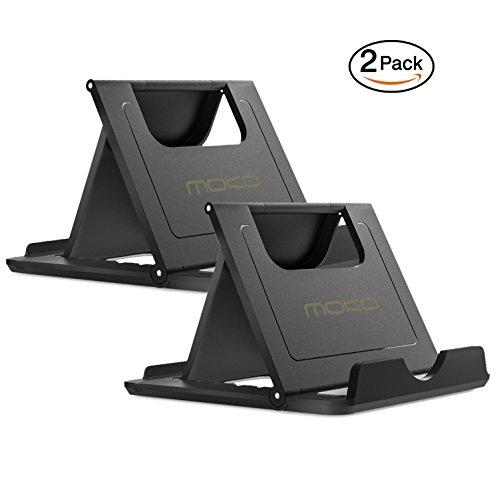 MoKo Mini Portable Handy / Tablet Ständer(2 Pack)- Faltbar Desktop Halterung für 6-8