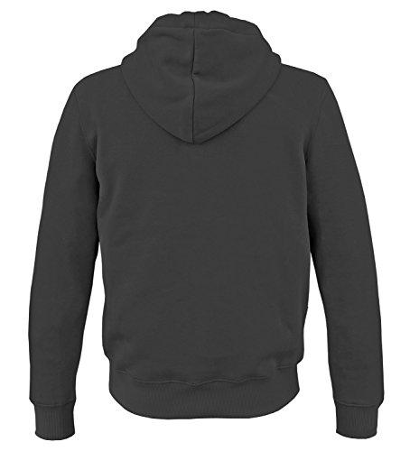 Alpha Ind. Basic Hoody Sweater Kapuzen Pullover Schwarz
