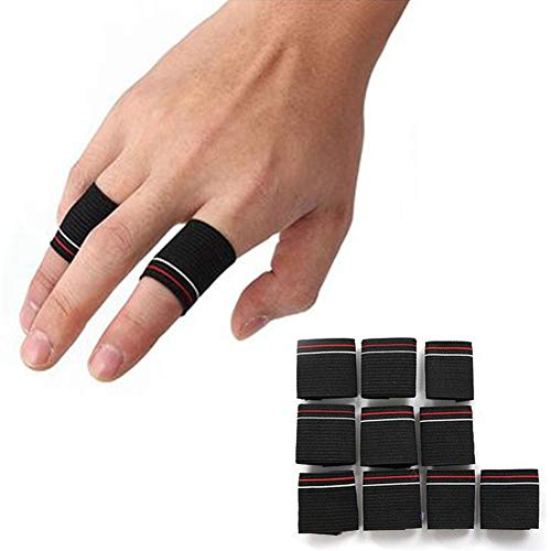 Terzsl Fingerschutz, Dehnbar, für Arthritis, 10 Stück -