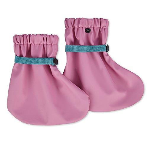 lovely lemon Wasserdichte Regenfüßlinge in Rosa für Mädchen | Öko Tex Standard 100 | One Size für Babys und Kleinkinder | Verschweißte Nähte | Waschbar Bei 40° C