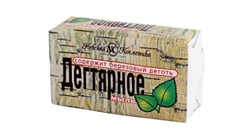 Natural BIRCH BARK SOAP (TAR SOAP) Anticeptic, Anti-Acne, Eczema 140g