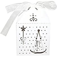 WINOMO Bomboniere sacchetti regalo di nozze favori 50pcs (Bridal Shower Regalo Regalo Di Nozze)