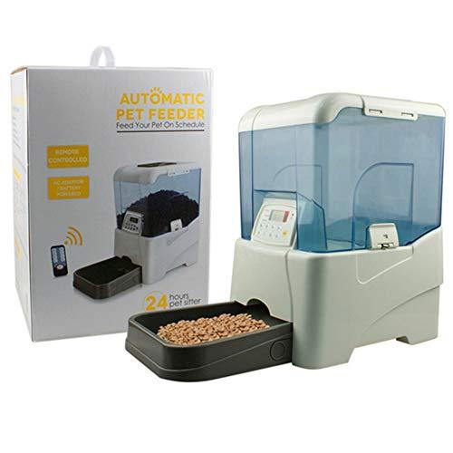 ZISITA Automatische Futterautomat Timing Feeder Katze Hund Elektrische Trockenfutter Dispenser Dish Feed 24 Stunden Timer Heimtierbedarf -