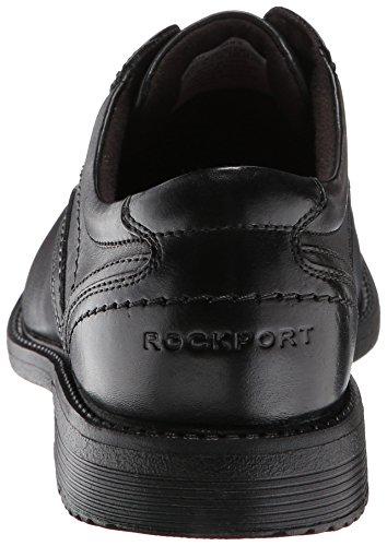 Rockport SL2 Bike Toe Ox Herren Breit Fahrrad Leder Schnürschuh Black