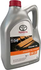 Toyota Advanced Fuel Economy 0W-20 : 5 Liter Liter 5 Liter