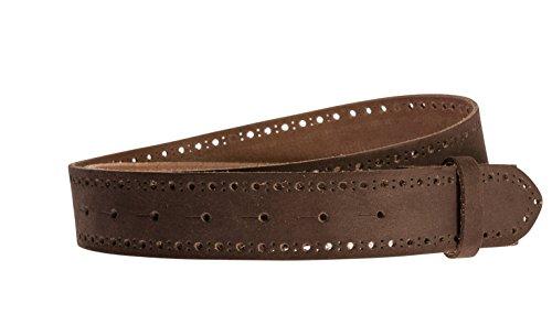 Grtel-Leder-40mm-braun-Lochmuster-Grtelriemen-aus-Rindsleder-in-4-cm-Breite-Ledergrtel-aus-echt-Leder-ohne-Schnalle