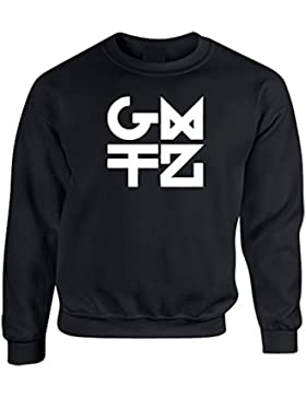 Gemitaiz Nuovo Logo - Felpa Hip Hop Rap Italiano, Uomo Donna