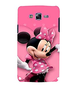 printtech Minnie Mouse Back Case Cover for Samsung Galaxy J1 (2016) / Versions: J120F (Global); Galaxy Express 3 J120A (AT&T); J120H, J120M, J120M, J120T Also known as Samsung Galaxy J1 (2016) Duos with dual-SIM card slots