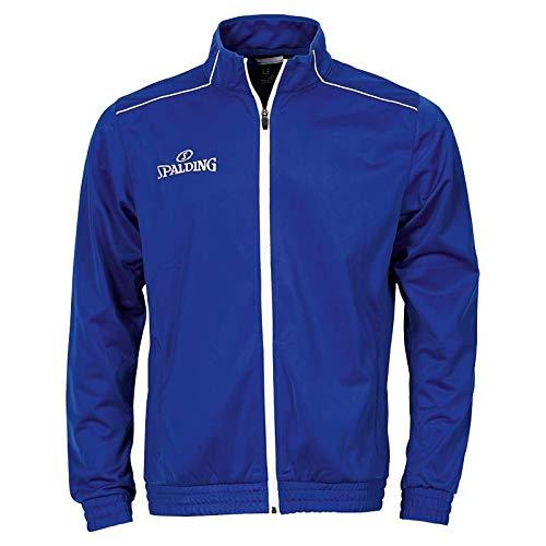 Team Warm Up Jacke (Spalding Herren Team WARM UP Jacket Jacke, royal/Weiß, S)