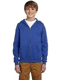 Jerzees Youth 8Oz 50/50NuBlend Fleece Full Zip Kapuze