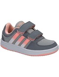 watch 5c5bc b4758 Baskets adidas NEO Hoops VS Comfort pour fillette en gris