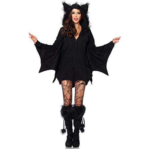 SPFTOY Frauen Superhelden Deluxe Batgirl, Große Größe Erwachsene Halloween Sexy Weibliche Batman Kostüm Cosplay Rollenspiel (Weiblichen Superhelden Kostüm Babys)