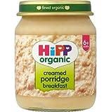 (8 PACK) - Hipp Creamed Porridge Breakfast (6+) | 6 X 125g | 8 PACK - SUPER SAVER - SAVE MONEY