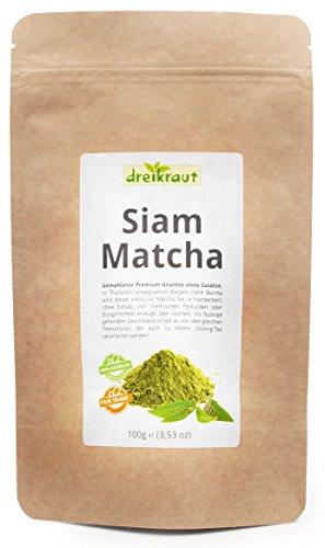 Siam-Matcha - Premium-Matcha aus Nordthailand, kontrollierter Anbau, - Kuchen Matcha