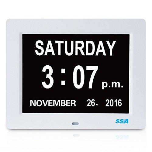 Calendario Digitale Per Anziani.Orologio E Calendario Digitale Per Anziani Con Demenza