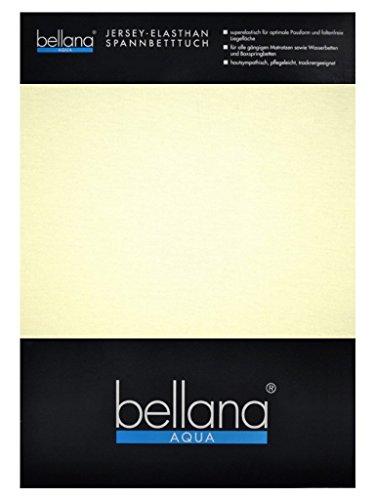 Queen-wasserbett (bellana® AQUA Jersey Multifunktions-Spannbettlaken für Wasserbetten in Normal- und Übergrößen, 90-100-120x200-220 cm in schnee)