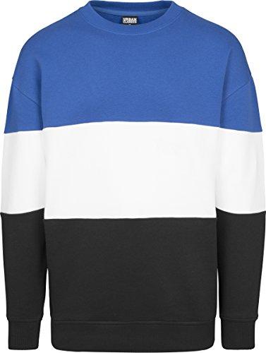 Urban Classics Herren Pullover Mehrfarbig (ROYAL/WHITE/Navy 01232)