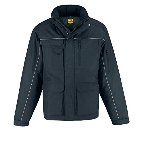 B&C Collection Herren Jacke Schwarz