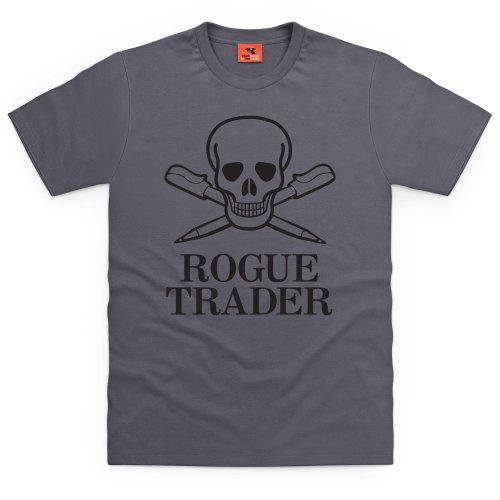 Square Mile Rogue T-Shirt, Herren Anthrazit