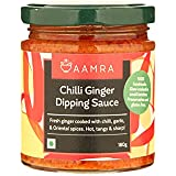 Aamra Homemade Chilli Ginger Dipping Sauce 180gm (Schezwan Style)