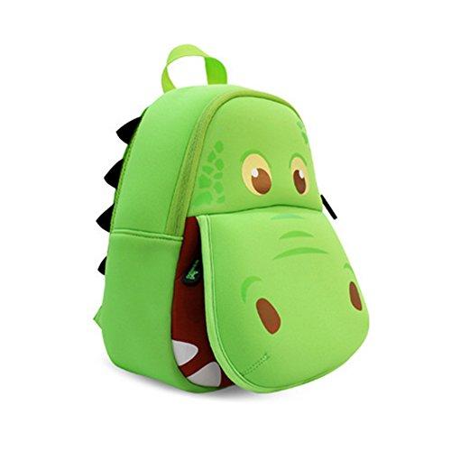 BINGONE NOHOO Zainetto per bambini carino verde ippopotamo
