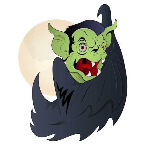 T-Shirt - Drakula 06 - Halloween - Vampir - Herren - unisex Weiß