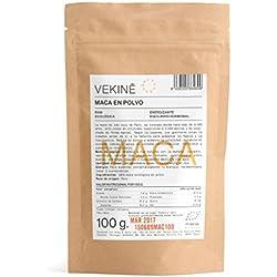 Maca Ecológica en polvo 100 gr | La mejor calidad | Superalimentos VEKINE Health Movement!
