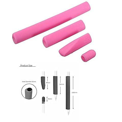 lovinstar Bleistift Gap Grip Set für Apple iPad Tablet Bleistift Ersatz Gap rutschfest Pen Grip Kugelschreiber Feder Silikon Cover Skin Protector case Sleeve Wrap Set