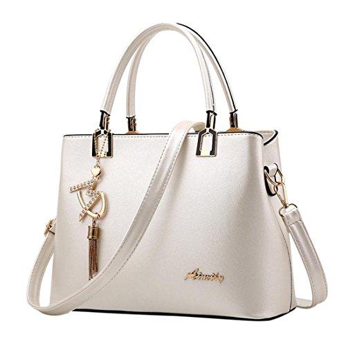 Borsa Donna Borse a Mano Borse a Tracolla con tracolla in pelle zaino Borse a Spalla Borsetta Messenger Tote Bag Beauty Top...
