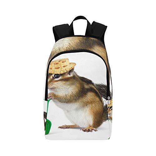 hen in den Wollhüten lässig Daypack Reisetasche College School Rucksack für Männer und Frauen ()