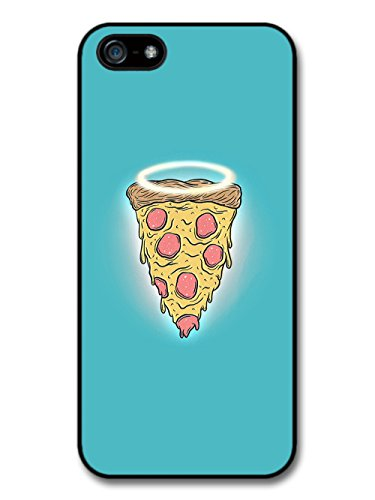 pizza-with-angel-halo-illustration-carcasa-de-iphone-5-5s