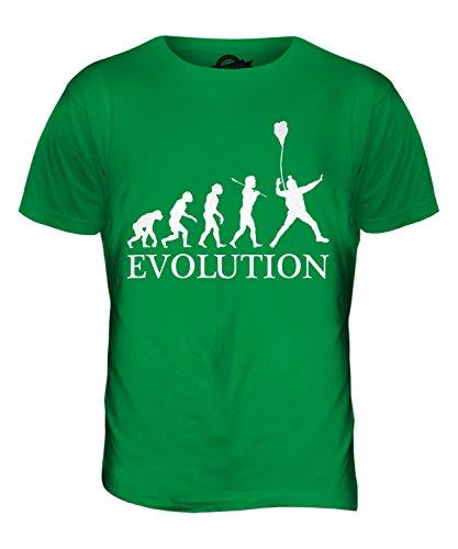 CandyMix Base Jumping Evolution Des Menschen Herren T Shirt Grün